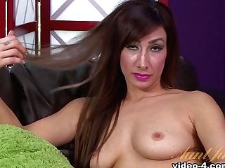 Crazy Superstar In Amazing Medium Tits, Sandy-haired Porno Movie