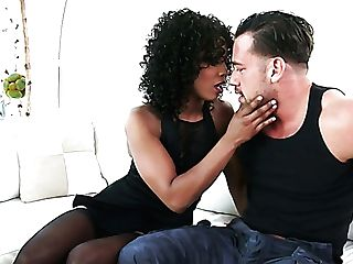 Misty Stone Is A Charming Curly Black Tart Who Wanna Be Fucked Rear...