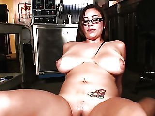 Horny Big-chested Mummy Selena Castro Lures Black Medic And Works...