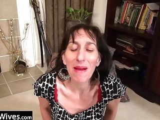 Usawives Penny Jones Matures Solo Getting Off