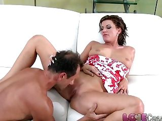 Love Internal Ejaculation Hot Cougar Gets The Fuck Of Her Life