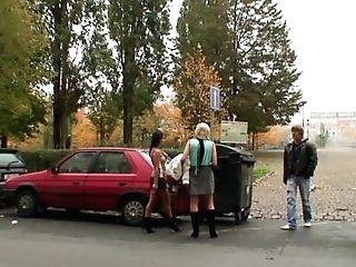 Skinny Granny Escort Takes Big Manmeat From Behind