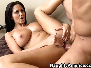 Super-naughty America Ava Addams Fucking In The Pool